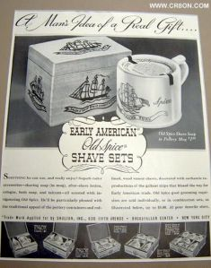 Old Spice ad 1939